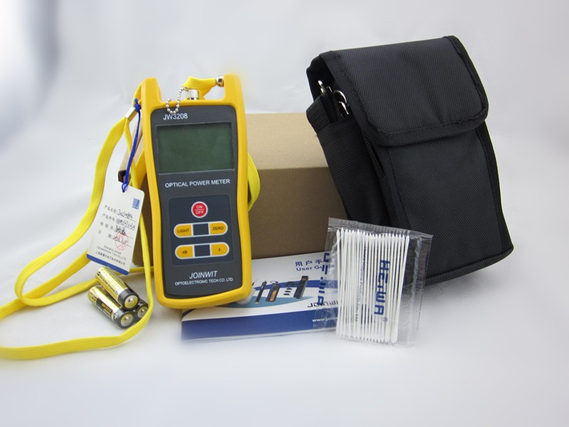 Telecommunication Field  JW3208A -70~+6dBm Handheld Fiber Optic Power MeterTelecommunication Field  JW3208A -70~+6dBm Handheld Fiber Optic Power Meter