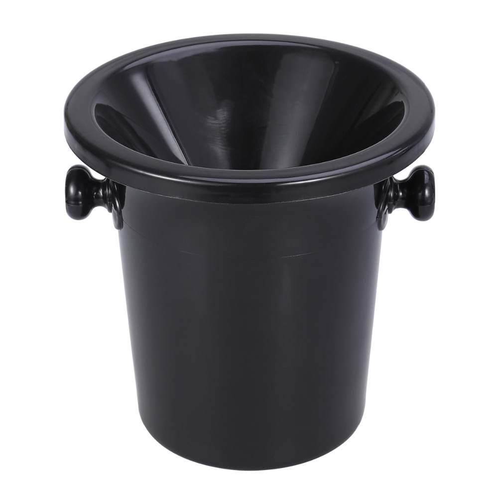 Wine Tasting Spittoon Black Dump Bucket