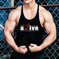 Fashion Vest Men Bodybuilding Tank Tops Muscle Alive Sleeveless Shirts Fitness Singlet Undershirt Workout Clothes
