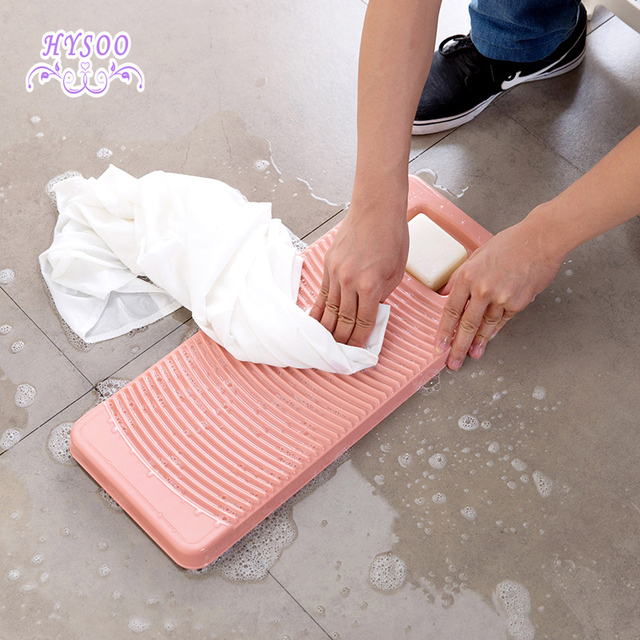 Plastica antiscivolo bordo di lavaggio dormitorio ispessimento lavare i vestiti