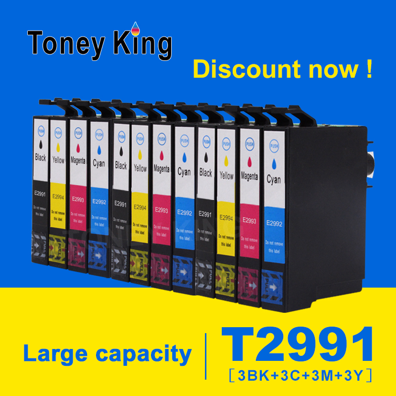 Toney King 3 Set Compatible Ink Cartridge T2991 29 For Epson 29XL For Epson XP 235