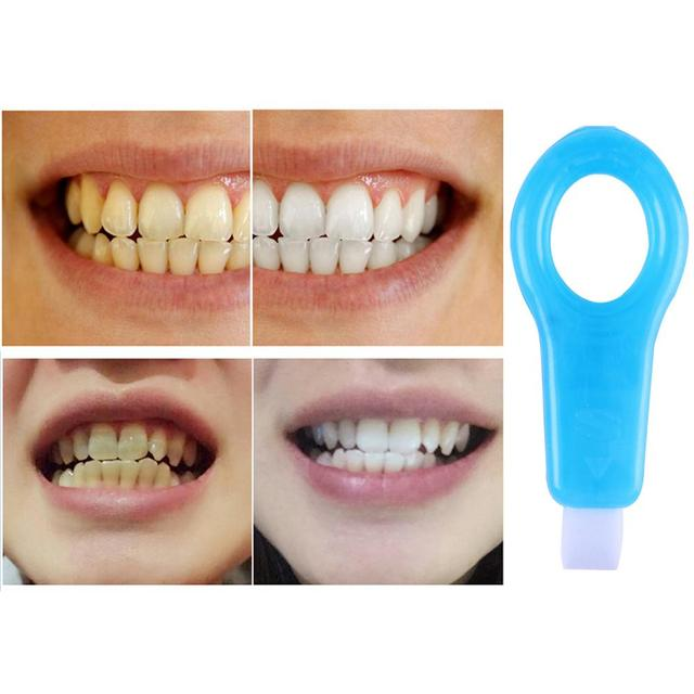 12pcs Teeth Whitening kit Nano Tube Teeth Cleaning Whitener Brush Tooth Stains Remover Teeth Cleaning Strips for Oral Deep Clean