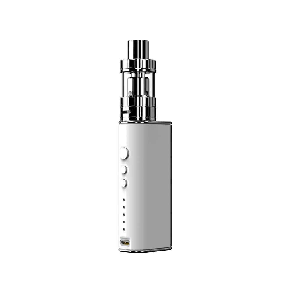 Электронная сигарета 1850 мАч встроенный аккумулятор Vaptio P2 комплект коробка мод 75 Вт электронная сигарета 2,0 мл Atomizer емкость для жидкости 510 Распылитель на резьбе наборы
