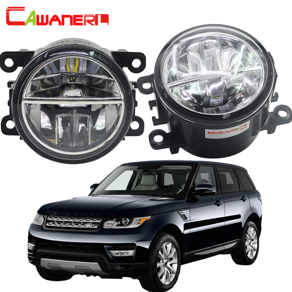 Cawanerl Car LED Fog Light Daytime Running Light DRL 12V For Land Rover Range Rover Sport LS Closed Off-Road Vehicle 2006-2013 руководящий насос range rover land rover 4 0 4 6 1999 2002 p38 oem qvb000050