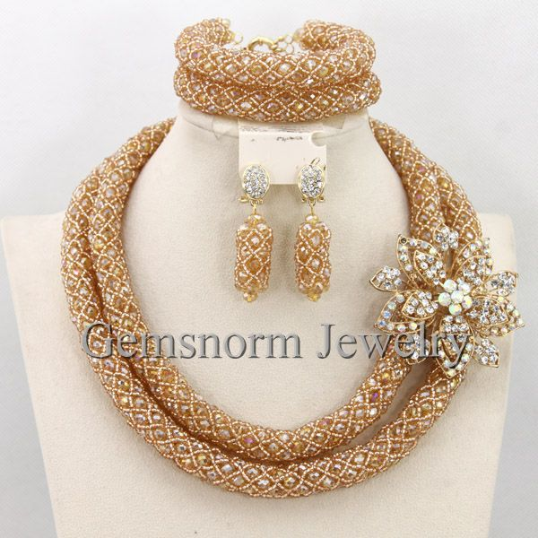 aliexpresscom buy luxury dubai gold bridal jewelry set african beads costume jewelry set african fashion jewelry set for women free shipping wb155 from