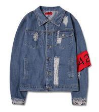 Yizlo 424 jeansjacke männer frauen veste homme jaqueta masculina vintage chaquetas hombre herren mäntel und jacken streetwear
