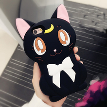 Kitty Bow Rubber Phone Cover