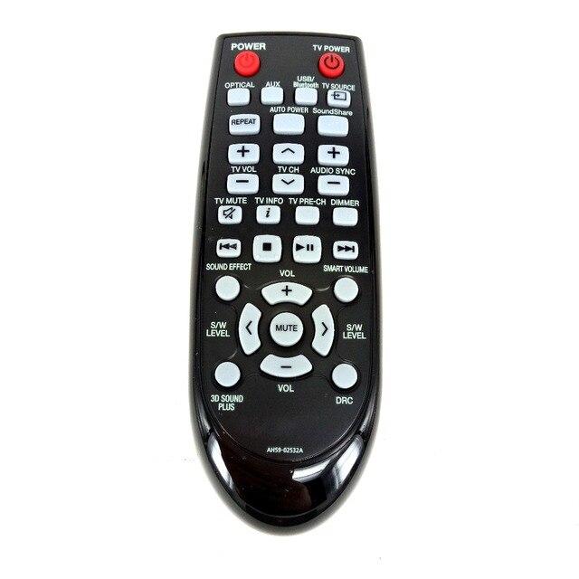 NEW Original  FOR Samsung Home Theater Sound Bar Remote Control AH59-02532A HW-F355 HW-FM35 NEW