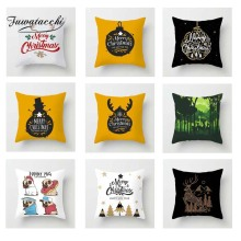 Fuwatacchi Xmas Cartoon Cushion Cover Animal Deer  Soft Throw Pillow Decorative Sofa Case Pillowcase