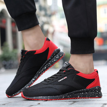 Running Shoes For Men Outdoor Athletic Sport Sneakers Spring And Summer Breathable Mesh Upper Lace Up