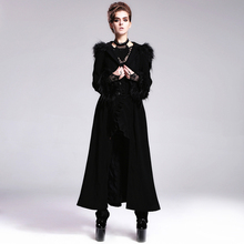 Long Cuff Hooded Gothic