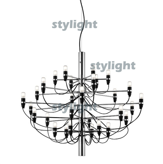 Pendant lamp 2097 suspension lighting chandelier 2097 by Gino Sarfatti 30 heads free shipping