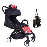 YOYA 5 Baby Stroller Travel Portable Folding Baby Babyzen Yoyo Stroller Children Buggy Car Carriage Trolleys Umbrella