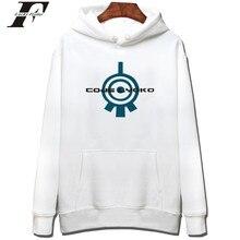 Spring Style Code Lyoko Harajuku Men Sweatshirt With Cap And Plus Size Lyoko Print Fashion Style Hoodies Pullover Womens Clothes
