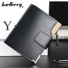 Men's wallet leather men wallets purse short male clutch leather wallet mens money bag quality guarantee Fashion Busines 047X