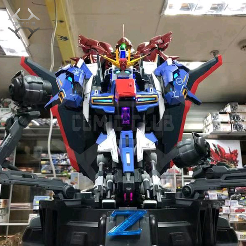 COMIC CLUB IN-STOCK 1/35 YIHUI BUST HEAD ZETA Gundam Assembly Model Contains Led Light Action Figure Toy