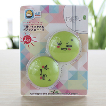 4pcs Set Protection Baby Safety Silicone Door Stopper Security Supplies Prevent Children From Being Damaged Emoji