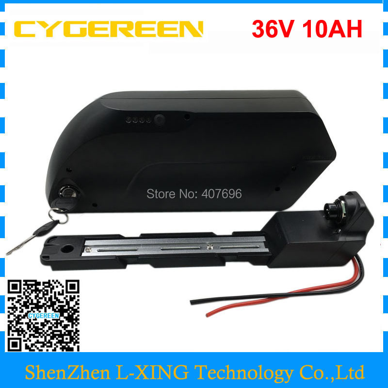 Down tube 350W 500W <font><b>36V</b></font> <font><b>10Ah</b></font> battery <font><b>36V</b></font> li-ion <font><b>18650</b></font> Electric bike battery pack with USB Port 42V 2A charger image