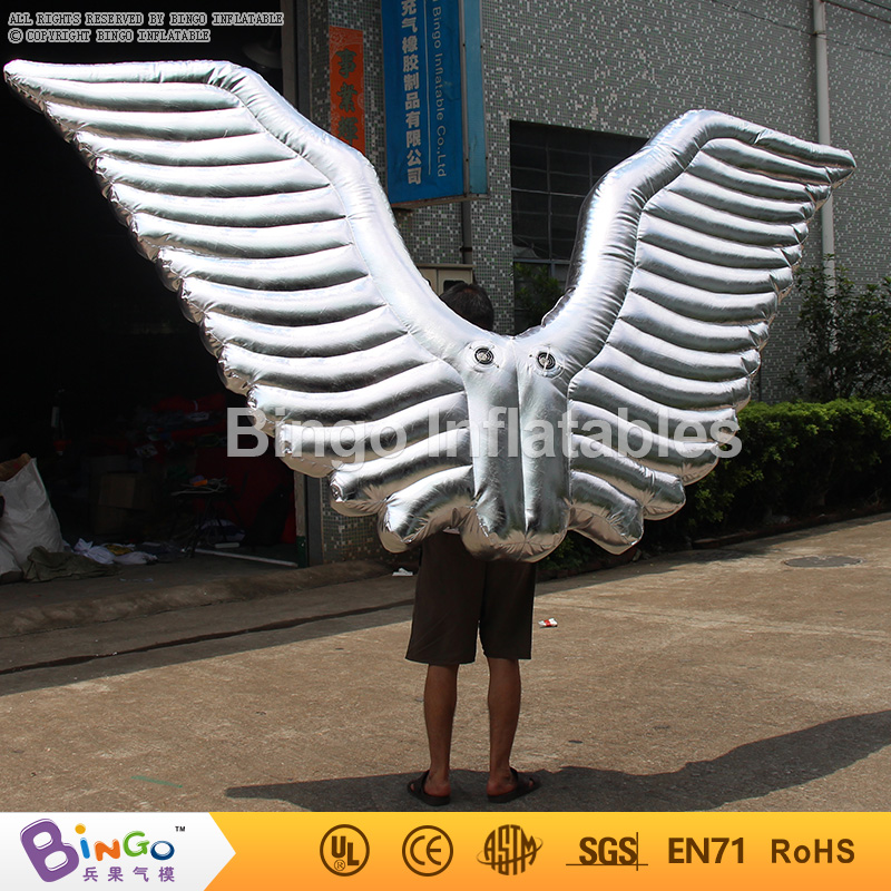 Free delivery inflatable super wings costume inflatable silver wings costume for party event show used advertising lps toys ad41 dhl free shipping 10ft 3m dancing inflatable advertising man mini sky dancer inflatable air dancer costume for advertising