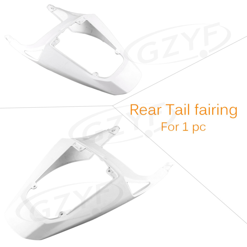 Unpainted Tail Rear Fairing Cover Bodykits Bodywork for Honda CBR 600 RR 2013, Injection Mold ABS Plastic allgt raw abs plastic unpainted tail rear fairing for honda cbr 1100rr 1997 2007