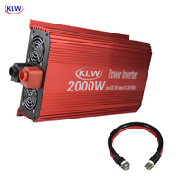 5V 2.1A USB 2000W Watt DC 12V to AC 220V Portable Power Inverter Charger Converter Adapter DC 12 to AC 220 Modified Sine Wave