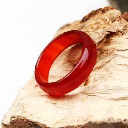 Jewelry free shipping crystal  chalcedony guide red ring tail jewelry ring lovers menor women jewelry Unisex  amethyst ring