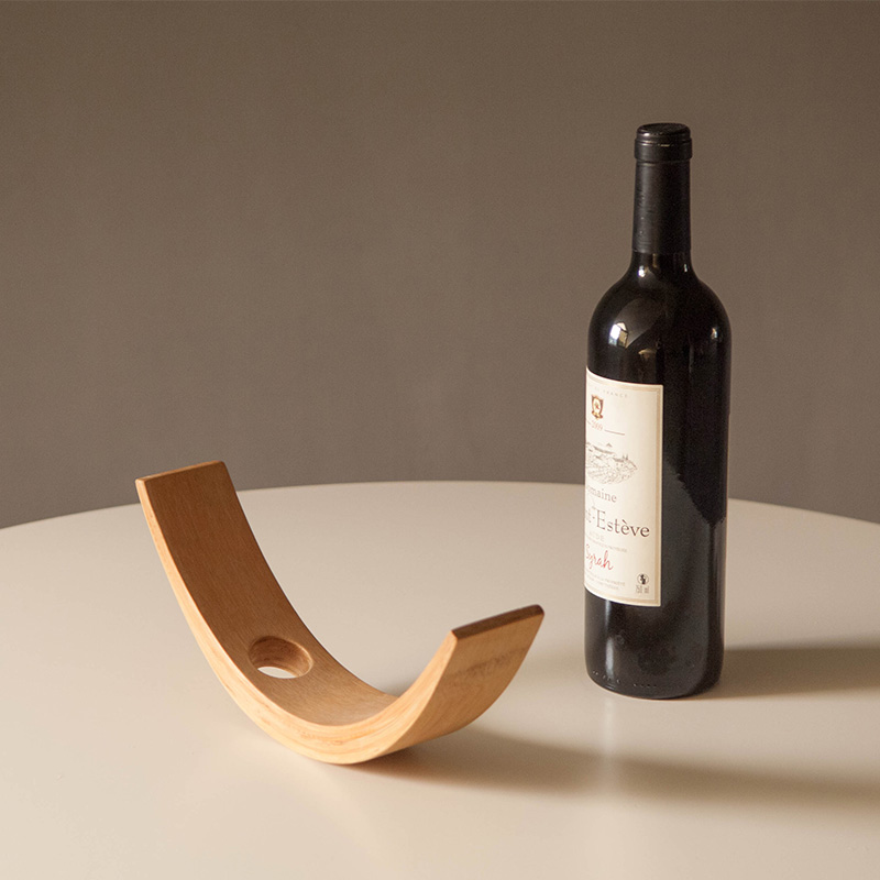 Eco-friendly & Natural Bamboo Wine Holder 1