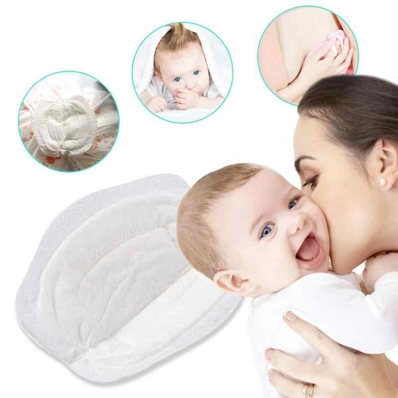 Almohadilla de lactancia de bebé de 1 piezas Algodón puro transpirable lavable reutilizable Anti desbordamiento de leche maternidad almohadilla de lactancia