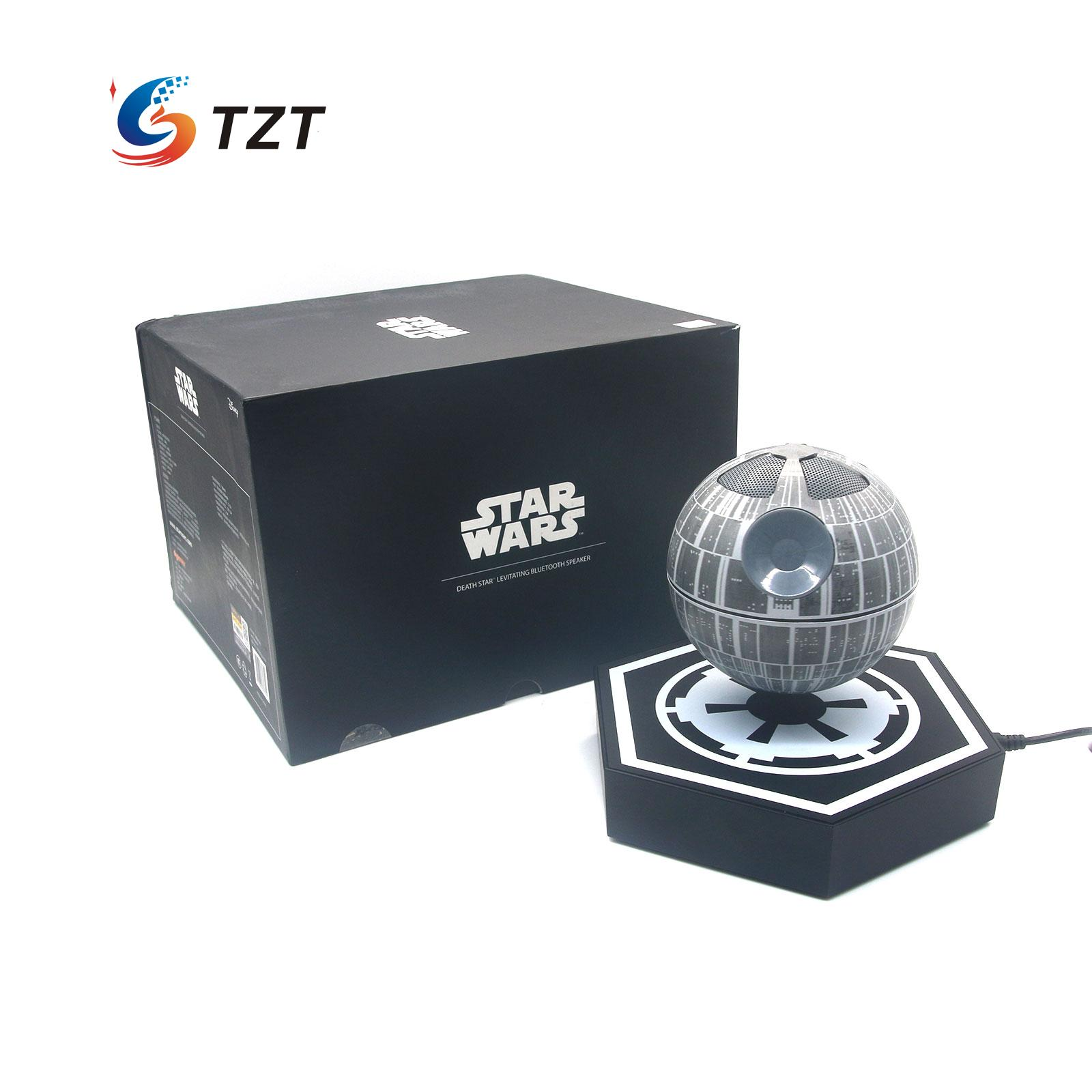 Original Star Wars Death Star Maglev Bluetooth Wireless Stereo Rotating 360 Degree Speakers Magnetic Levitation Sound