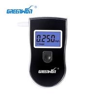 3pcs Pack Digital Breath Alcohol Tester Police Digital Breath High Precision Alcohol Tester For Breathalyzer Test