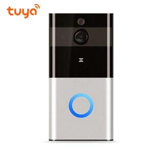 Image 2 - Alexa Google Full HD Wi Fi Enabled Smart Video Tuya WiFi Ring Doorbell Remote Control Door Bell Wireless Tuya Smart Camera 1080P
