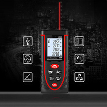 Handheld Laser Range Finder Infrared Laser Range Finder Measuring Instrument 40M Digital Laser Tape Measure Ruler Subway leter cp 80 80 m laser rangefinder handheld range finder laser ruler built ranging motor