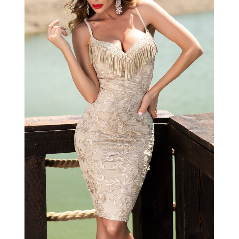 Lace Dress Women Sleeveless Spaghetti Strap Stretchy <font><b>Bodycon</b></font> Dress <font><b>Sexy</b></font> Club Party Casual Lace Dress <font><b>Vestido</b></font> <font><b>De</b></font> <font><b>Renda</b></font> <font><b>Vestidos</b></font> image