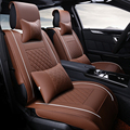 Специальный Кожаные чехлы для сидений автомобиля Для Honda Accord FIT ГОРОД XR-V CR-V Odyssey Element Pilot 2016 ~ 2011 автомобильные аксессуары укладки