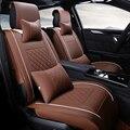 Cuero del asiento de coche especial cubre para honda accord fit ciudad xr-v element piloto odyssey cr-v 2016 ~ 2011 accesorios car styling