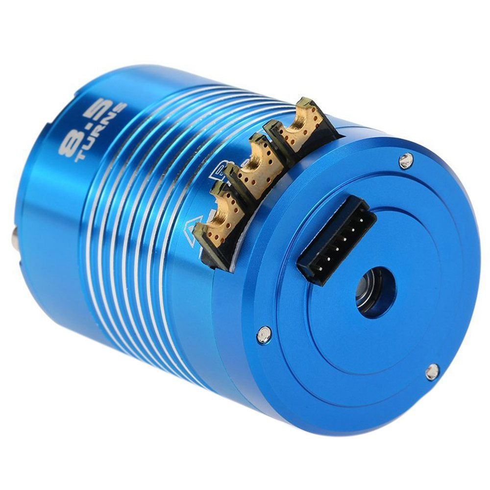 New High Efficiency 540 Sensored Brushless Motor for 1/10 RC Car Blue, 8.5T 4100KVNew High Efficiency 540 Sensored Brushless Motor for 1/10 RC Car Blue, 8.5T 4100KV