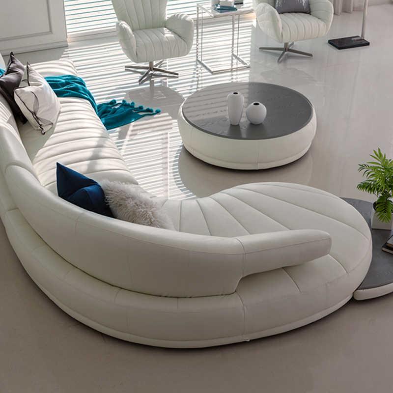 Living Room Sofa set big corner sofa recliner electrical couch genuine  leather sectional sofas muebles de sala moveis para casa