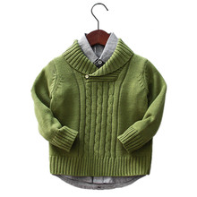 kids boys sweater children clothes 2017 fashion designer china-imported-clothes Blue kids Boys knitted sweater Pullovers