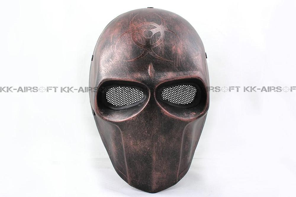FMA masque de fête Airsoft treillis métallique armée de deux biochimiques masque facial complet TB634