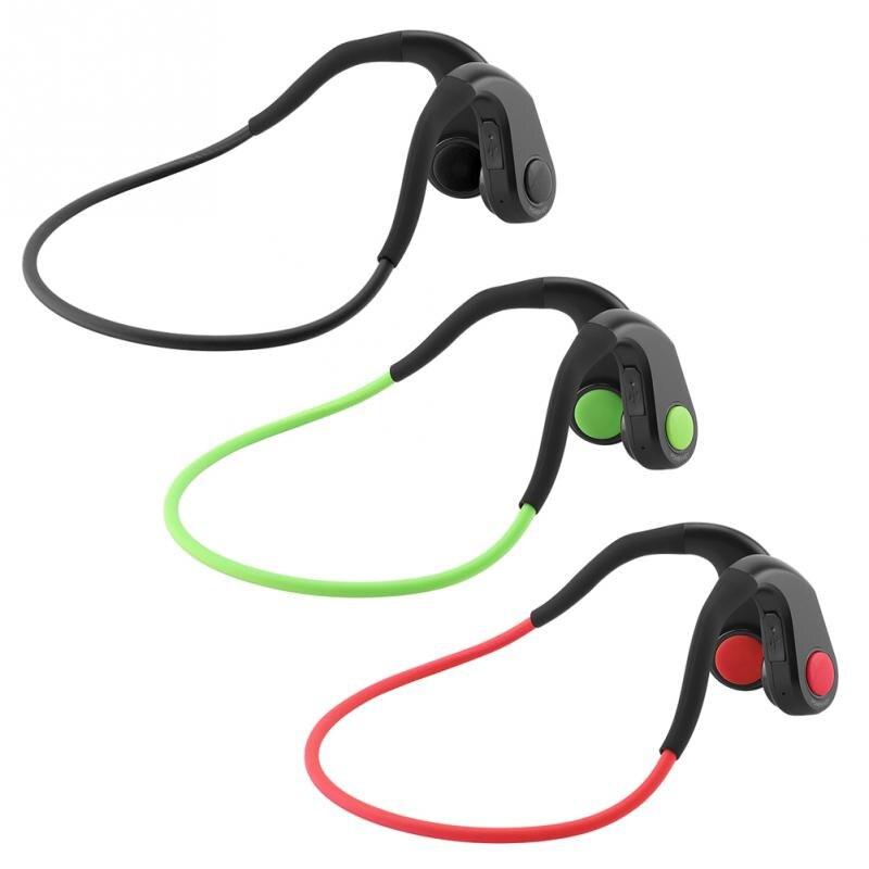 Antibruit Conduction Osseuse Casque Bluetooth NFC Sans Fil Écouteurs à Conduction Osseuse