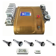 8 in 1 Lipo Laser+ 40K Cavitation+RF+Vacuum/ RF radiofrequency face lifting Vacuum rf lipolaser vacuum fat dissolving beauty