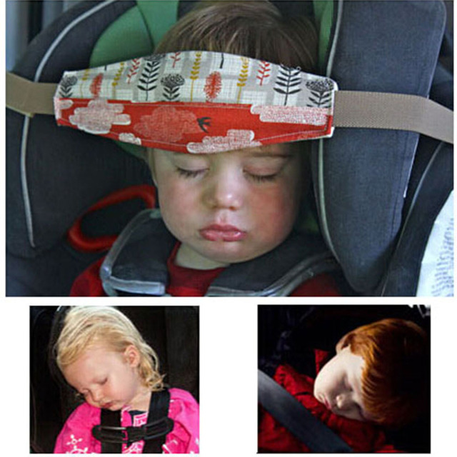 15m 59 Baby Car Seat Headrest Sleeping Head Support Pad Cover For Kids