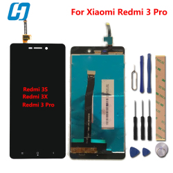 Xiaomi Redmi 3 Pro LCD Display+Touch Screen Test Well New Panel Replacement For Xiaomi Redmi 3 Prime 3S 3X 1280X720 HD 5.0''