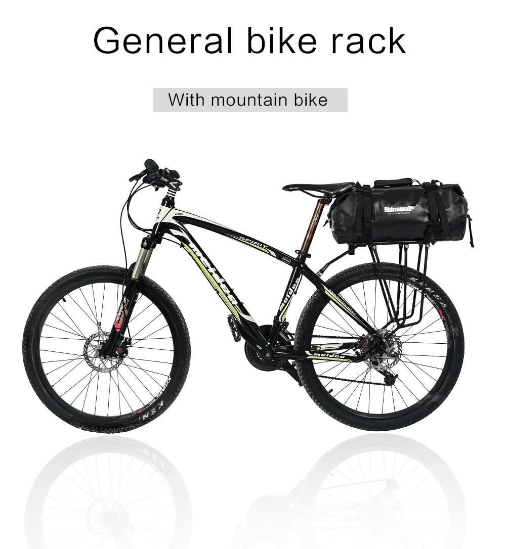 Rhinowalk Bicycle Luggage Bags 20L Full Waterproof for Road Bike Rear Rack Trunk Cycling Saddle Storage Pannier Multi Travel Bag (11)