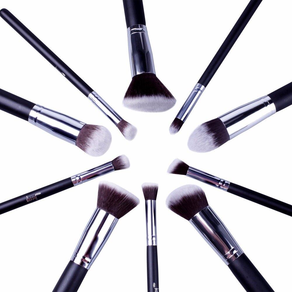 2017 jessup brushes brush set 10pcs makeup brushes foundation kit powder tools eyeshadow blending eyebrow brushes T058