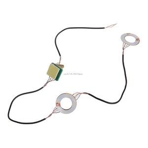 Image 1 - Manchons de pouce analogiques manettes de Joystick lumière LED bricolage pour PS4 Platstation 4 manette