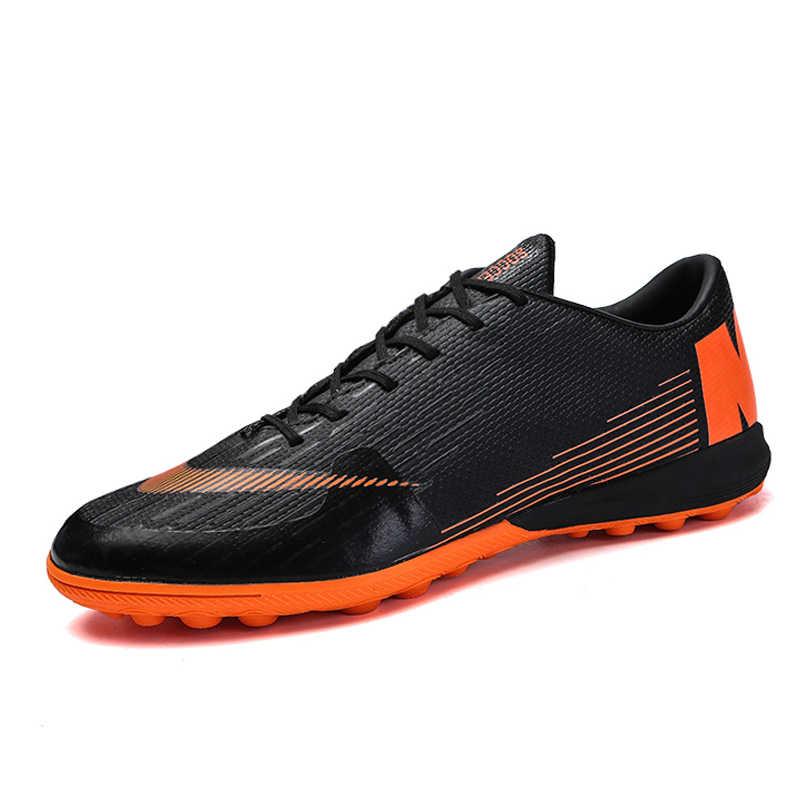 Profesional de los hombres zapatos de fútbol Indoor futsal fútbol TF Turf fútbol  zapatillas hombres fútbol df9f34d6c3551