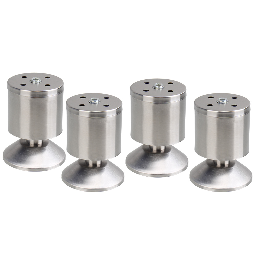 4PCS Stainless Steel 8cm Height Sofa Leg Furniture Parts Bed/TV Cabinet  Feet In Casters From Home Improvement On Aliexpress.com | Alibaba Group