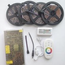 15 м 20 м RGB RGBW светодио дный полосы Водонепроницаемый IP68 5050 2835 лента 12 В 10 м + RF пульт дистанционного управления + Мощность adapter Kit Бесплатная доставка