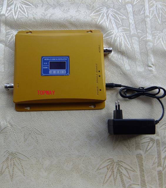 PANTALLA LCD! GSM 3G amplificador de señal móvil GSM 3G WCDMA REPETIDOR AMPLIFICADOR